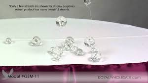 crystal beaded curtains by koyal wholesale wedding and event