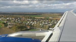 scary landing british airways a320 go around in stormy weather