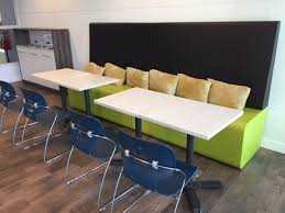 Break Room Table And Chairs by Our Week At Trendway Office Furniture Warehouse