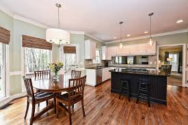 Kitchen Island Table With 4 Chairs Kitchen Minimalist Open Kitchen Dining Room Design With