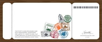 boarding pass invitations world traveler boarding pass invitations by noteworthy collections