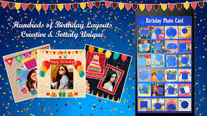 birthday photo collage maker android apps on google play