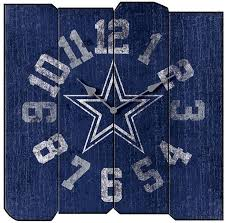 Dallas Cowboys Home Decor Dallas Cowboys Vintage Square Clock Home Decor Pinterest Clocks