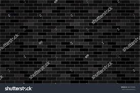 black dark grey brick wall wallpaper stock vector 364155485