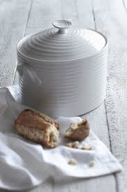 white ceramic bread bin china perfection kitchen accessories