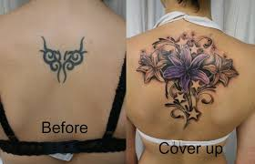 cover up butterfly design idea