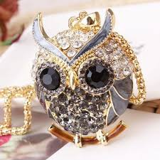 owl vintage necklace images 18k gold vintage crystal cubic zircon diamond owl necklaces jpg