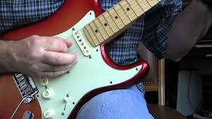 2010 fender american deluxe strat with n3 pickups review youtube