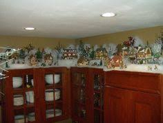 Decorating The Top Of Kitchen Cabinets by Christmas Kitchen Cabinets Christmas On Top Of The Cabinets