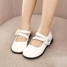 patent leather girls shoes kids princess flat shoes students