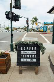 flower shops in san diego coffee and flowers at communal coffee in san diego local wanderer