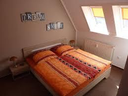Schlafzimmerm El Erle Ferienwohnung Alte Dorfschule Fewo Direkt