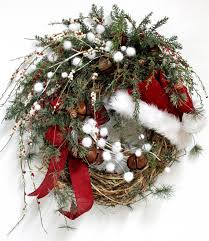 Decorating Grapevine Christmas Wreaths by Jingle All The Way Country Christmas Wreath By Floralsfromhome