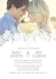 wedding invitations pictures wedding invitation with photo best 25 picture wedding invitations