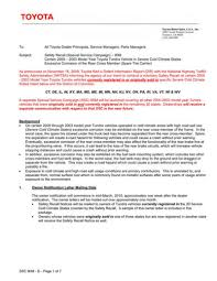 toyota dealer usa the tundra frame rust recall service bulletin you u0027ll soon be
