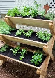 Herb Garden Idea Porch Herb Garden Ideas