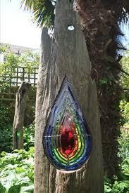 stained glass garden sculptures louise durham gardening
