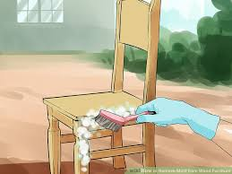 How To Get Wax Off Wood Table The Easiest Way To Remove Mold From Wood Furniture Wikihow