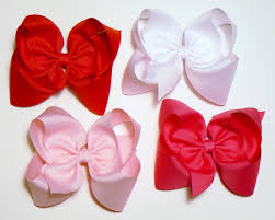big hair bows large hair bows set 5 inch hair bows childrens kids big