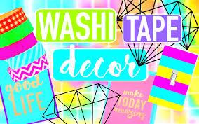 Washi Tape Designs by Diy Washi Tape Room Decor Dormspiration Youtube