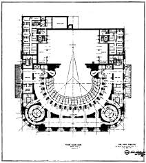 file new theatre foyer level floor plan the architect 1909 jpg