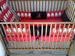 Alabama Bed Set Alabama Elephants And Houndstooth Baby Bedding Set