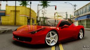 ferrari 458 vs 488 ferrari 458 for gta san andreas