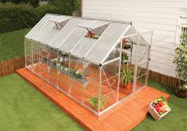 Hobby Greenhouses Darby Home Co Shearson 6 1 Ft W X 14 1 Ft D Greenhouse U0026 Reviews