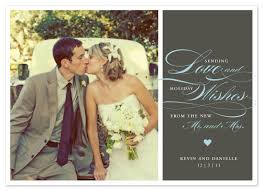photo cards newlywed wish at minted