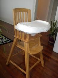 Wooden High Chair For Sale Eddie Bauer Wood Highchair Sturdy Wood High Chair From Edd U2026 Flickr