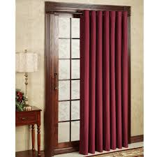 best curtains maroon thermal patiodoor curtain best curtains design 2016