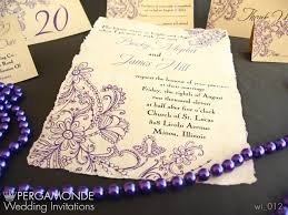 wedding and marriage pergamonde wedding invitations