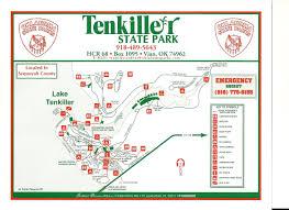 Florida State Parks Map Tenkiller State Park Tenkiller Com
