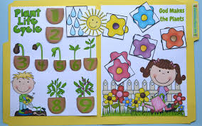bible fun for kids god makes flowers and plants for preschool