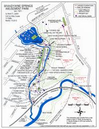 Washington Park Map by Friends Of Brandywine Springs Park
