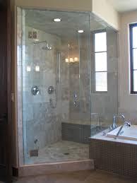 grey tiles shower areas wall with steel rain head shower also bathroom grey tiles shower areas wall with steel rain head shower also transparent glass door