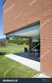 modern brick house modern brick house stock photo 33367261 shutterstock