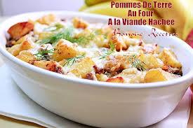 recette de cuisine viande gratin pomme de terre viande hachee