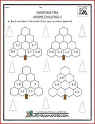 christmas math worksheets 4th grade free worksheets library