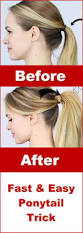 easy ponytail hairstyles for dailymotion ponytail easy