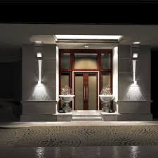 Exterior Wall Sconce Light Fixtures Cree Outdoor Wall Light Led Up Down Wall Sconces Adjustable Wall