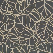 graham u0026 brown vine wallpaper charcoal gold texture