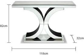 Venetian Console Table Fabulous Venetian Console Table With Venetian Mirrored X Console