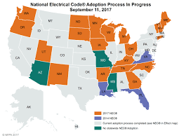 nec adoption maps nfpa