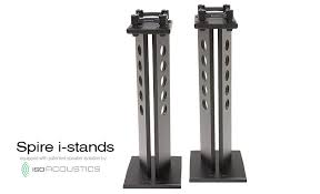 argosy 360i 420i spire i series speaker stands with isolation by