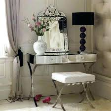 Glass Vanity Table With Mirror Vanities Elegant Mirror Vanity Set Ikea With Two Drawers And