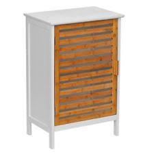 Bamboo Bathroom Cabinet Bamboo Bathroom Cabinets U0026 Cupboards Ebay