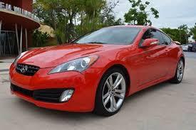 hyundai genesis miami hyundai genesis coupe for sale in miami fl carsforsale com