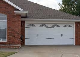 Garage Door Repair Okc by Okc Photo Gallery Of Garage Door Styles In Oklahoma City Area