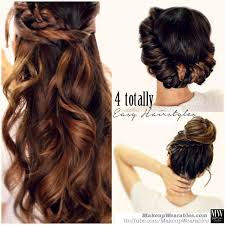 hair tutorials for medium hair 3 totally easy back to school hairstyles cute hair tutorial